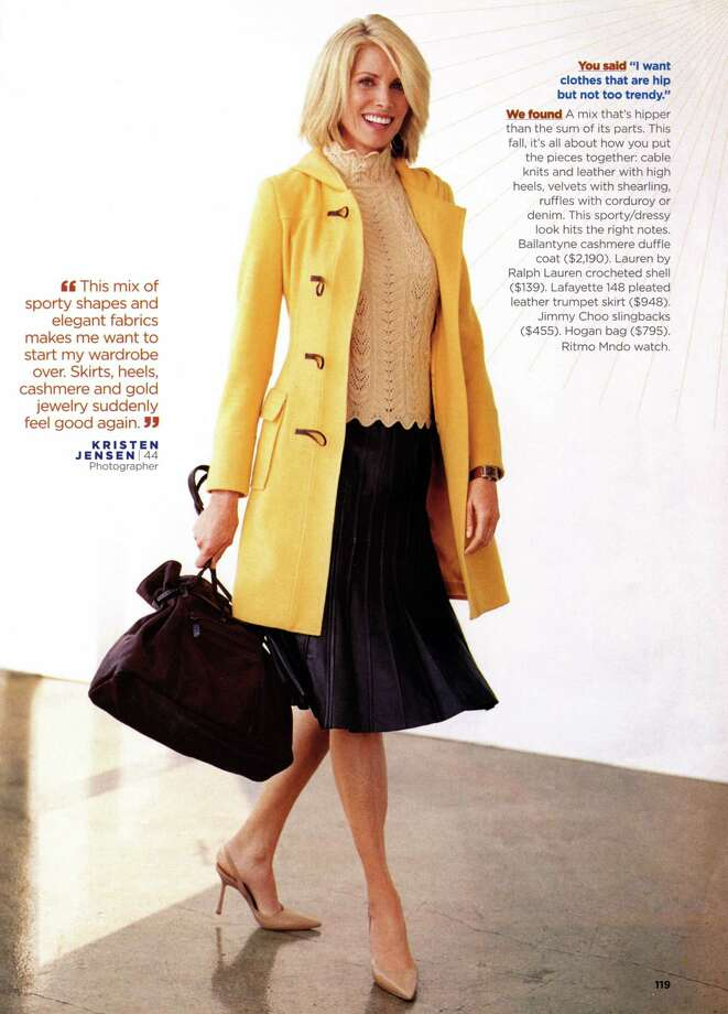 When Kristen Jensen was working as a model, she appeared on the pages of More magazine. Photo: Contributed Photo