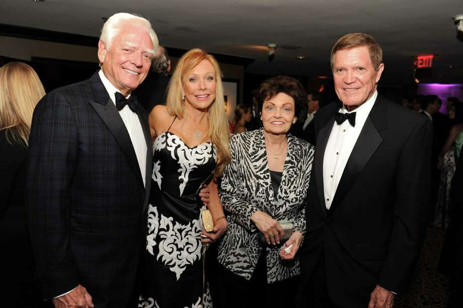 Howard Nations, from left, Carolyn St. Clair, Barbara Jordan and honoree Don D. Jordan Photo: Marc Nathan