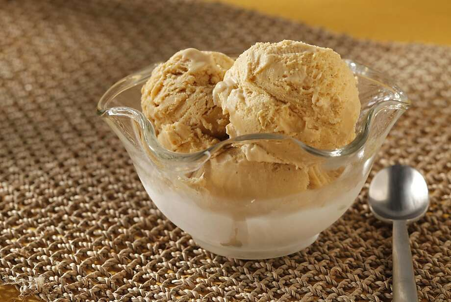 Galangal Brown Sugar Ice Cream as seen in San Francisco on March 28, 2011. Food styled by Stephanie Kirkland. Photo: Craig Lee, Special To The Chronicle