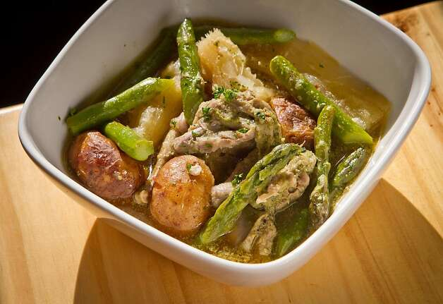 The Quail Stew at Gilberth's Restaurant in San Francisco , Calif., is seen on Saturday, May 5th, 2012. Photo: John Storey