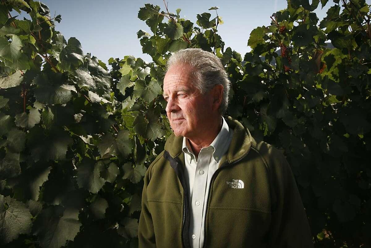 Marchese Piero Antinori, winery owner from Tuscany, Italy, who owns Antinori California, A Napa Valley Wine Estate.