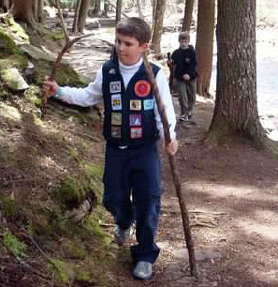 Jack Linnartz, above, has participated with the New Canaan YMCA Y-Guides for the last four years. Registration for the 2012-2013 season is on now. Photo: Contributed Photo