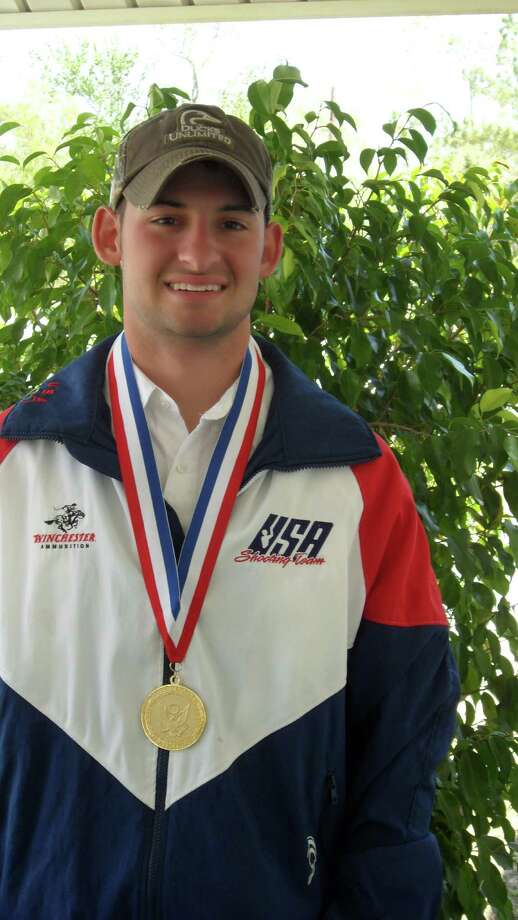 B.J. Blanchard, 21, of Vidor, lives at the U.S. Olympic Training Center in Colorado Springs, Colo., where he is part of the U.S. shooting team. He is aiming for a shot to get on the Olympic team for the 2012 games in London. photo provided by Karen Blanchard