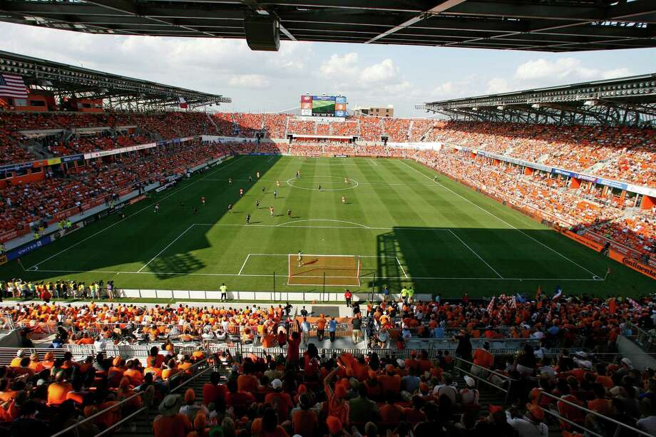 The Houston Dynamo plays the D.C. United in a MLS match during opening day at BBVA Compass Stadium Saturday, May 12, 2012, in Houston. ( James Nielsen / Chronicle ) Photo: James Nielsen / © Houston Chronicle 2012