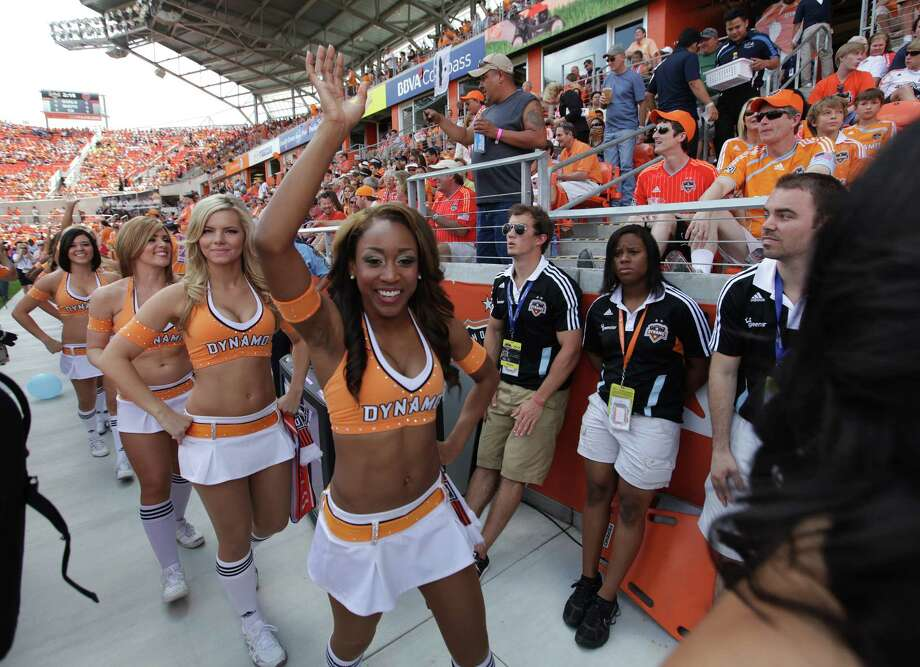 The Dynamo Girls are slated to make an appearance at Haute Wheels. Photo: Mayra Beltran / Houston Chronicle