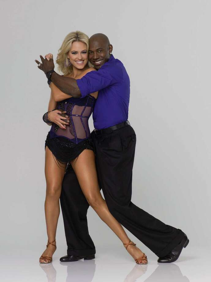 "DANCING WITH THE STARS - DONALD DRIVER & PETA MURGATROYD - Super Bowl champion Donald Driver joins Peta Murgatroyd, who returns for her second season as a professional partner. The two-hour season premiere of ""Dancing with the Stars"" airs MONDAY, MARCH 19 (8:00-10:01 p.m., ET) on the ABC Television Network. (ABC/BOB D'AMICO) Photo: Bob D'Amico / © 2012 American Broadcasting Companies, Inc. All rights reserved."