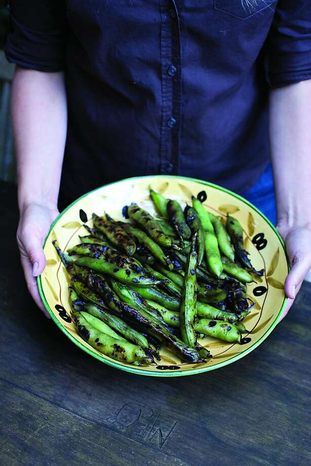 """An Image of fava beans from the book, """"Grow Cook Eat."""" Photo: Sasquach Books"""