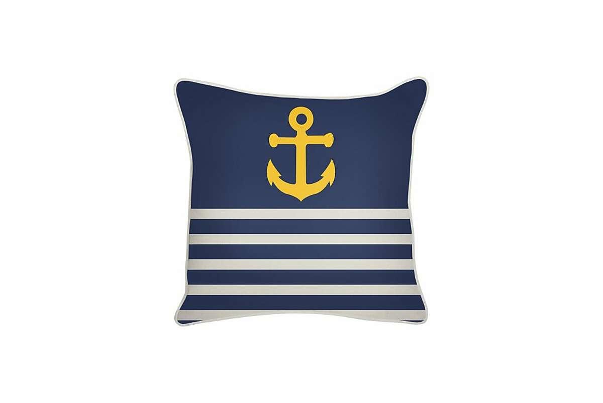 More: $88 Thomaspaul Outdoor Denim Anchor Pillow from 2modern (2modern.com)