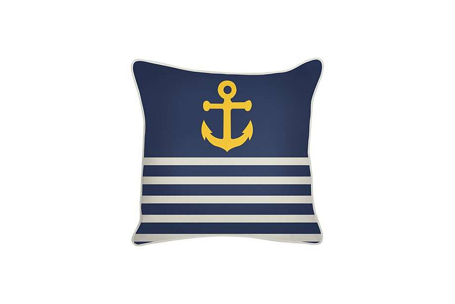 More: $88 Thomaspaul Outdoor Denim Anchor Pillow from 2modern (2modern.com) Photo: 2modern
