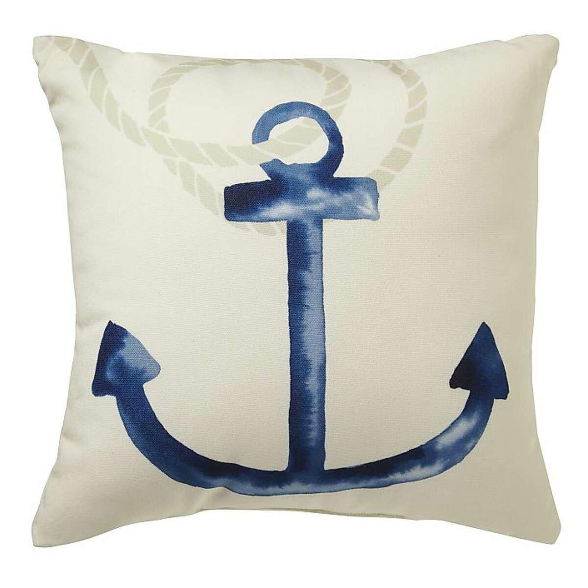 $39: Outdoor Anchor Pillow from West Elm (westelm.com)