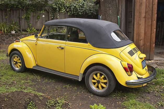 'I have shown the car at the Golden Gate Vintage Volkswagen Car Show in San Jose for seven years straight. There are quite a few convertible bugs still running and it feels like a family reunion when we all meet at Kelly Park.' Photo: Stephen Finerty, Photograph By Stephen Finerty -