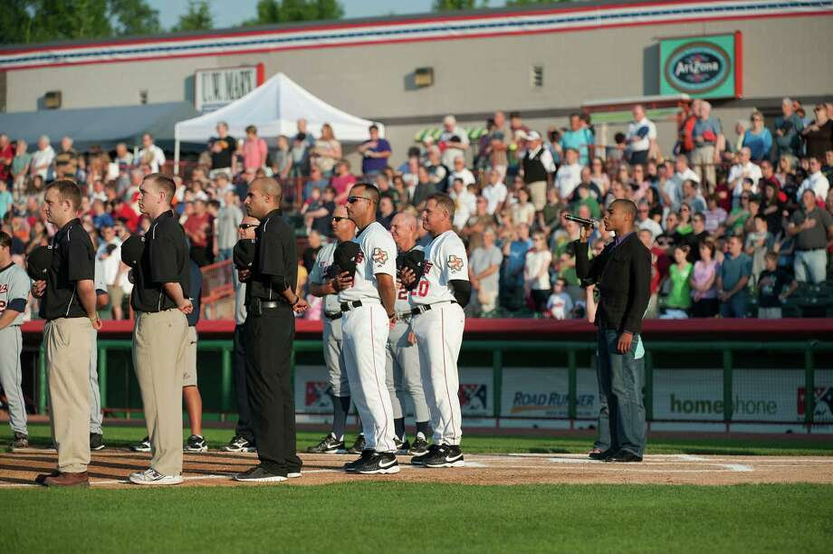 The Tri-City ValleyCats will audition for a National Anthem singer. The song is common, but complex. (Tri-City ValleyCats) Photo: Mark Morand / Mainframe Photography