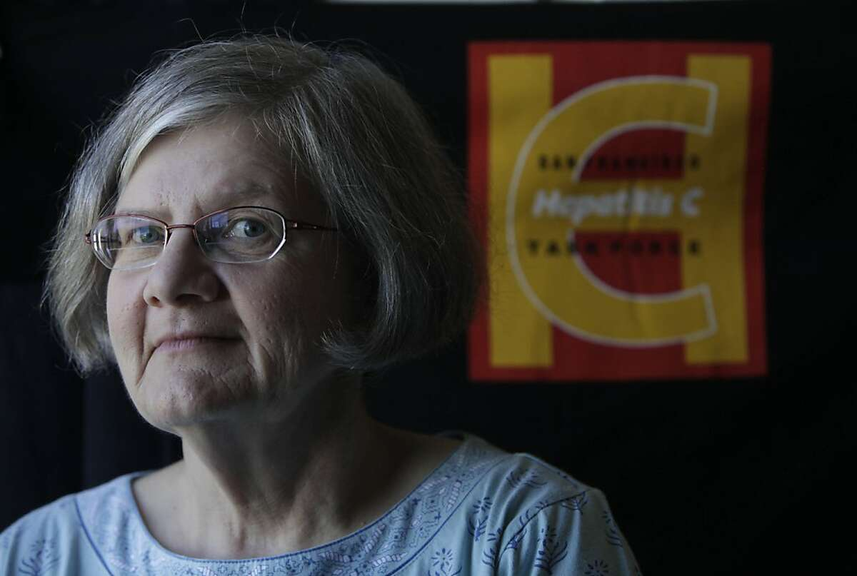 Shirley Barger of San Francisco, who is a member of the San Francisco Hepatitis C Task Force, is a baby boomer and suspects she contracted the disease in 1969 is seen on Friday, May 18, 2012 in San Francisco, Calif.