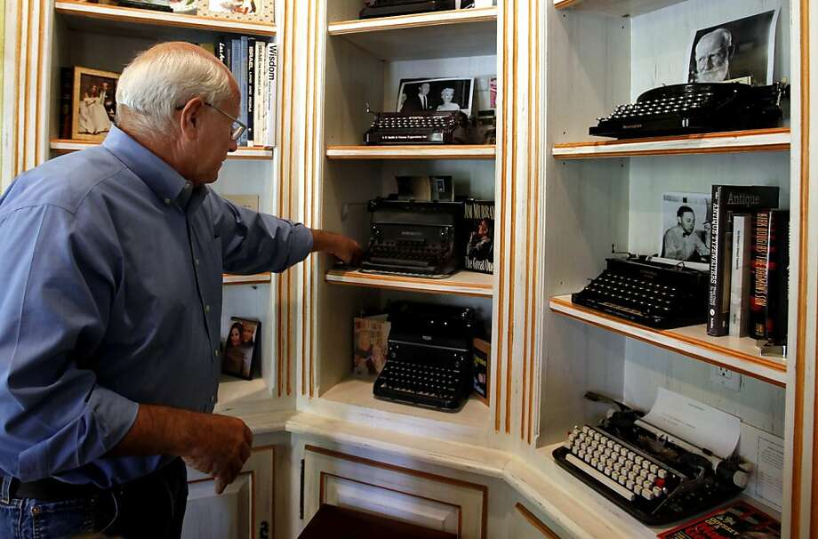 Steve Soboroff's collection includes typewriters used by George Bernard Shaw and John Lennon. (Francine Orr/Los Angeles Times/MCT) Photo: Francine Orr, McClatchy-Tribune News Service