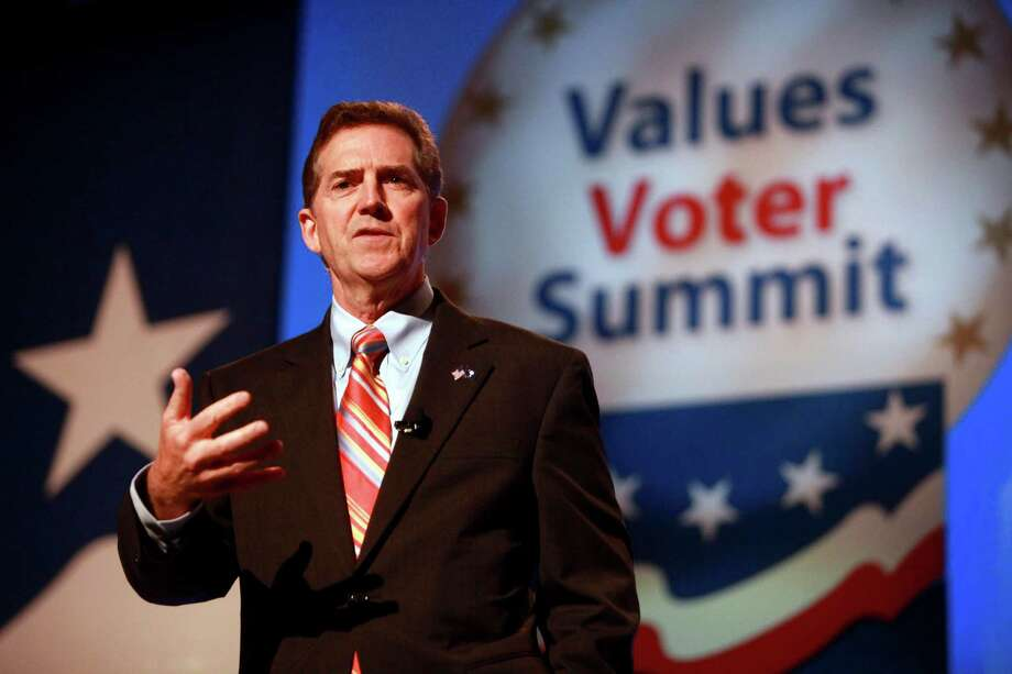 Sen. Jim DeMint, R-S.C., has been blamed for introducing a combative attitude in Congress and flinging outsiders' money and endorsements in elections. Photo: Jacquelyn Martin / AP