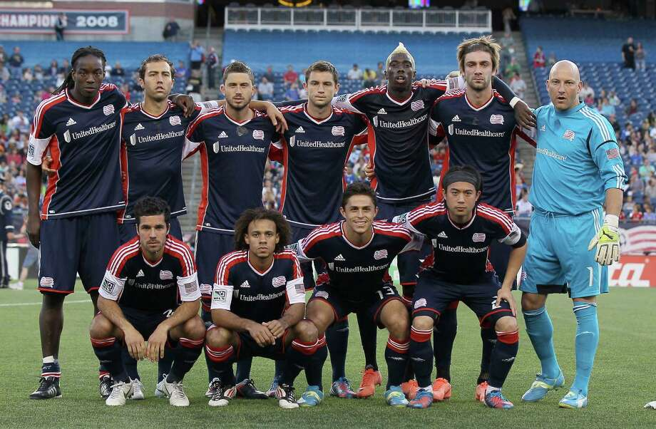 FOXBORO, MA - MAY 19:  The New England Revolution pose for a team photo before the game against the Houston Dynamo on May 19, 2012 at Gillette Stadium in Foxboro, Massachusetts. Photo: Elsa, Getty Images / 2012 Getty Images