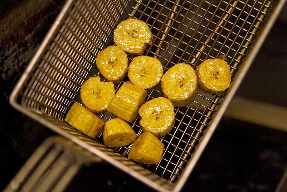 Fried plantains are a popular side dish in Nigeria. There aren't many Nigerian eateries around, but you can get fried plantains at some local Caribbean restaurants or make them at home. Banana Brazil: 91 Main Street, DanburyIran vs. Nigeria: June 16 Photo: John Storey
