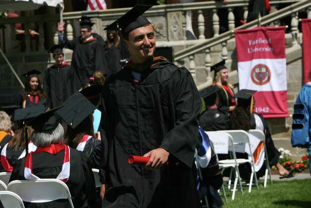 Fairfield University holds its 62nd commencement exercises in Fairfield, Conn. on May 20, 2012. Photo: B.K. Angeletti / Connecticut Post