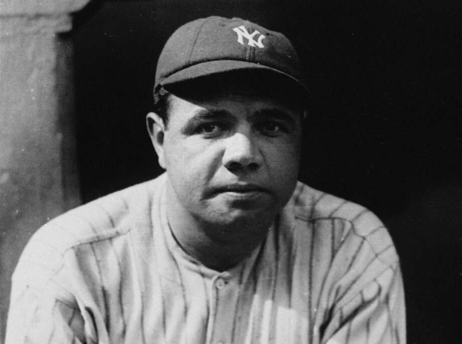 New York Yankees slugger Babe Ruth is seen in 1923. Photo: AP / AP