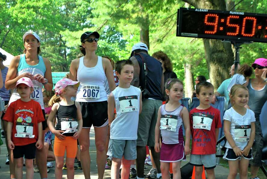 Were you Seen running (or walking) in SPAC's Rock & Run 5K fundraiser through the Spa State Park o
