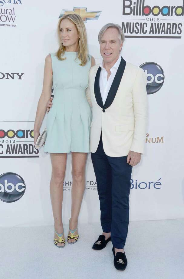 LAS VEGAS, NV - MAY 20:  (L-R) Dee Hilfiger and designer Tommy Hilfiger arrives at the 2012 Billboard Music Awards held at the MGM Grand Garden Arena on May 20, 2012 in Las Vegas, Nevada. Photo: Frazer Harrison, Getty Images For ABC / 2012 Getty Images
