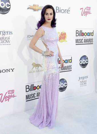 LAS VEGAS, NV - MAY 20:  Singer Katy Perry arrives at the 2012 Billboard Music Awards held at the MGM Grand Garden Arena on May 20, 2012 in Las Vegas, Nevada. Photo: Frazer Harrison, Getty Images For ABC / 2012 Getty Images