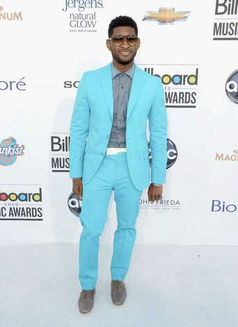 LAS VEGAS, NV - MAY 20:  Singer Usher arrives at the 2012 Billboard Music Awards held at the MGM Grand Garden Arena on May 20, 2012 in Las Vegas, Nevada. Photo: Frazer Harrison, Getty Images For ABC / 2012 Getty Images