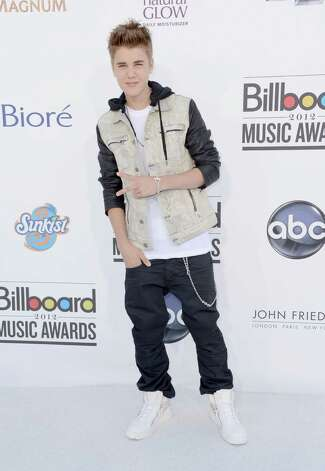 LAS VEGAS, NV - MAY 20:  Singer Justin Bieber arrives at the 2012 Billboard Music Awards held at the MGM Grand Garden Arena on May 20, 2012 in Las Vegas, Nevada. Photo: Frazer Harrison, Getty Images For ABC / 2012 Getty Images