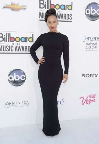 LAS VEGAS, NV - MAY 20:  Singer Alicia Keys arrives at the 2012 Billboard Music Awards held at the MGM Grand Garden Arena on May 20, 2012 in Las Vegas, Nevada. Photo: Frazer Harrison, Getty Images For ABC / 2012 Getty Images