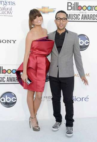 LAS VEGAS, NV - MAY 20:  Model Chrissy Teigen and musician John Legend arrives at the 2012 Billboard Music Awards held at the MGM Grand Garden Arena on May 20, 2012 in Las Vegas, Nevada. Photo: Frazer Harrison, Getty Images For ABC / 2012 Getty Images