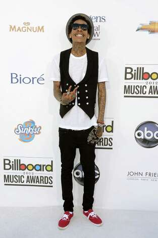LAS VEGAS, NV - MAY 20:  Singer Wiz Khalifa arrives at the 2012 Billboard Music Awards held at the MGM Grand Garden Arena on May 20, 2012 in Las Vegas, Nevada. Photo: Frazer Harrison, Getty Images For ABC / 2012 Getty Images