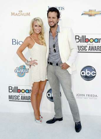 LAS VEGAS, NV - MAY 20:  Caroline Bryan and Luke Bryan arrive at the 2012 Billboard Music Awards held at the MGM Grand Garden Arena on May 20, 2012 in Las Vegas, Nevada. Photo: Frazer Harrison, Getty Images For ABC / 2012 Getty Images