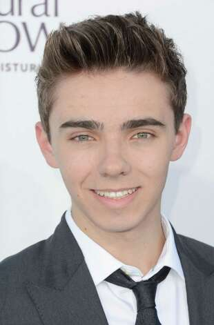 LAS VEGAS, NV - MAY 20:  Singer Nathan Sykes of The Wanted arrives at the 2012 Billboard Music Awards held at the MGM Grand Garden Arena on May 20, 2012 in Las Vegas, Nevada. Photo: Frazer Harrison, Getty Images For ABC / 2012 Getty Images
