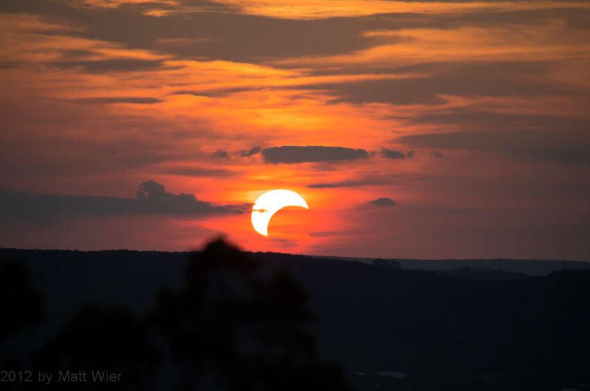 MAY 20, 2012, Solar eclipse as seen from Eisenhower Park Matt W