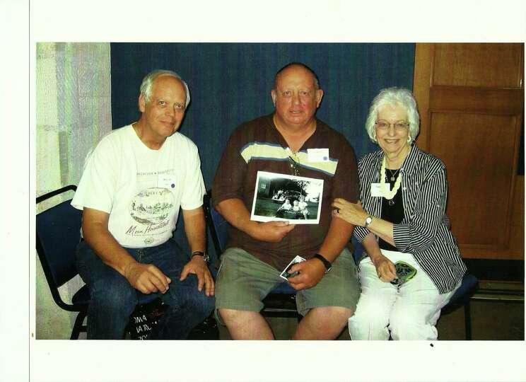 Summer 2010, Bill Gros, Albert Karnowski, Theresa Gros Gold, at Hoelscher-Buxkemper Family Reunion i