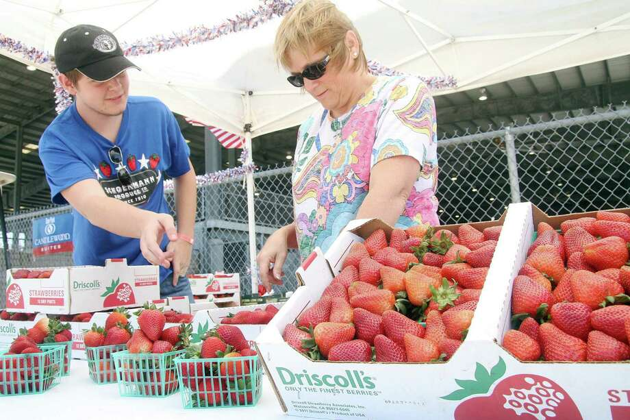 May 20-22, 2016: Pasadena Strawberry Festival at the Pasadena Convention Center will give you a taste of spring, plus a giant strawberry shortcake. Photo: Pin Lim, For The Chronicle / Copyright Pin Lim.