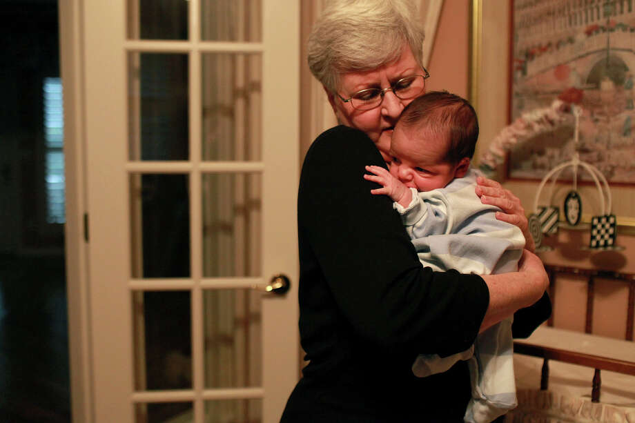 """A reader who adopted one of LeClair Reaves' foster babies thanks her for her """"tender care"""" of the infant. Photo: Lisa Krantz, San Antonio Express-News / @2012 SAN ANTONIO EXPRESS-NEWS"""