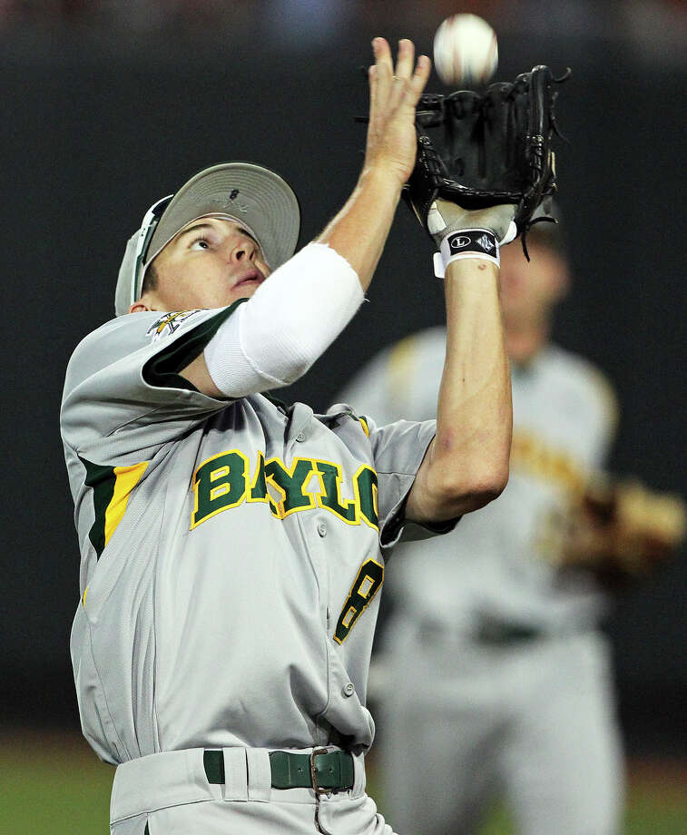 Second baseman Lawton Langford of Uvalde is hitting .320 and earned first-team all-Big 12 honors.  Tom Reel / San Antonio Express-News Photo: TOM REEL, Express-News / San Antonio Express-News