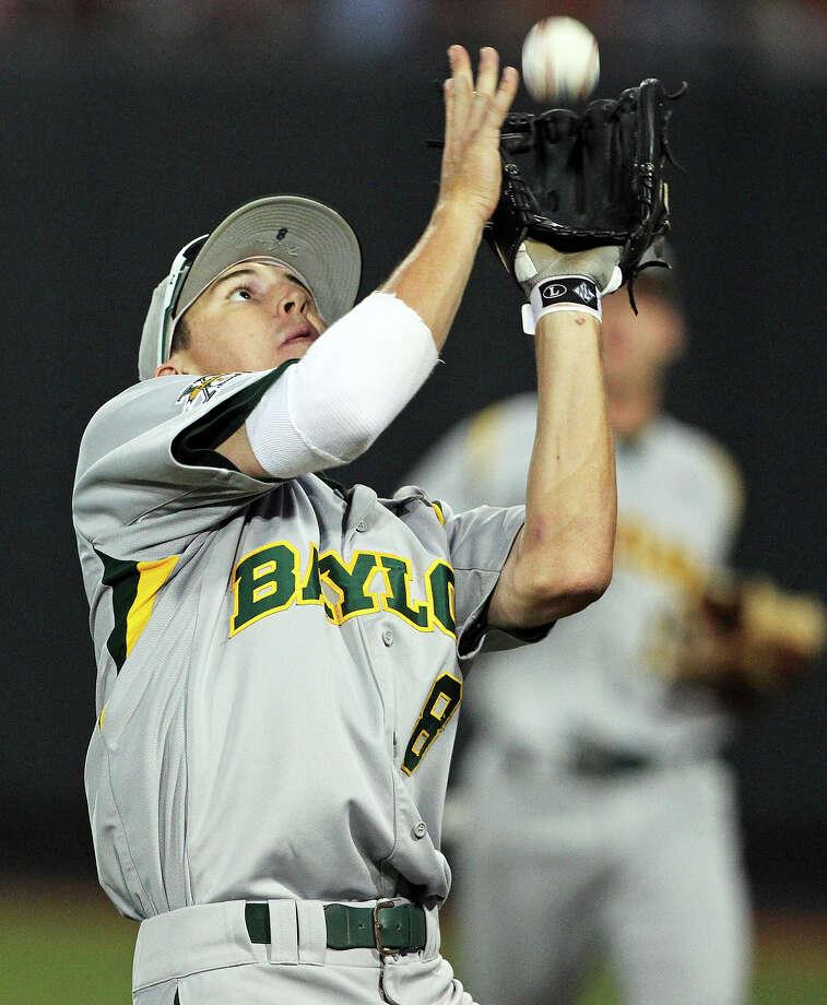 Second baseman Lawton Langford of Uvalde is hitting .320 and earned first-team all-Big 12 honors.  Tom Reel / San Antonio Express-News Photo: TOM REEL, Express-News / San Antonio Express-News