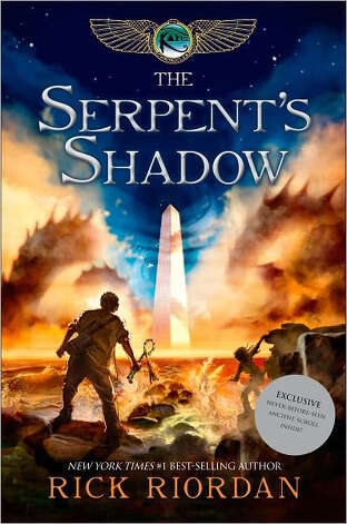 """The Serpent's Shadow"" by Rick Riordan Photo: Rick Riordan"