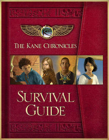 """The Kane Chronicles: Survival Guide"" by Rick Riordan Photo: Rick Riordan"
