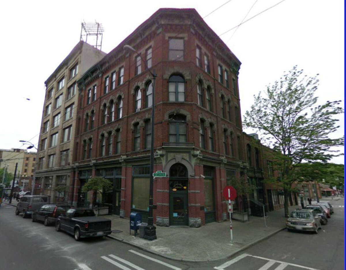The brick building at 221 South Washington Street was once home to Seattle's most refined brothel, operated by Lou Graham - the city's most notorious madam and one of the largest supporters of education at the time. The building, completed in 1900, is now home to part of the Union Gospel Mission. (Photo: Google Maps)