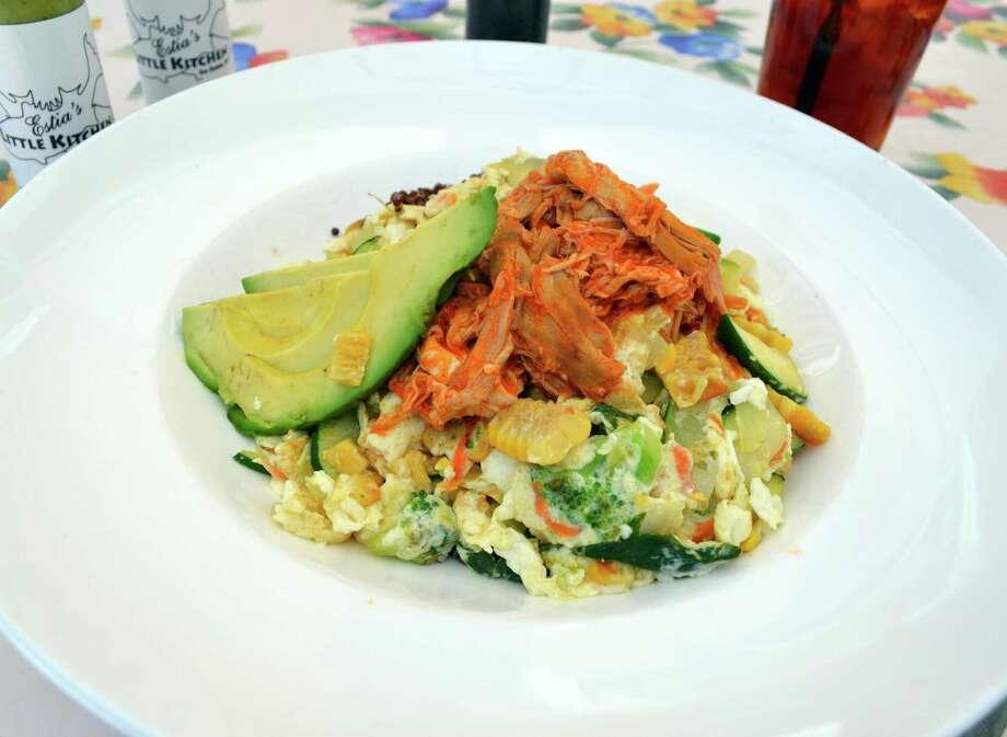 """A's Pop"": a dish at Estia's in Darien, Conn. Photo: Contributed Photo"