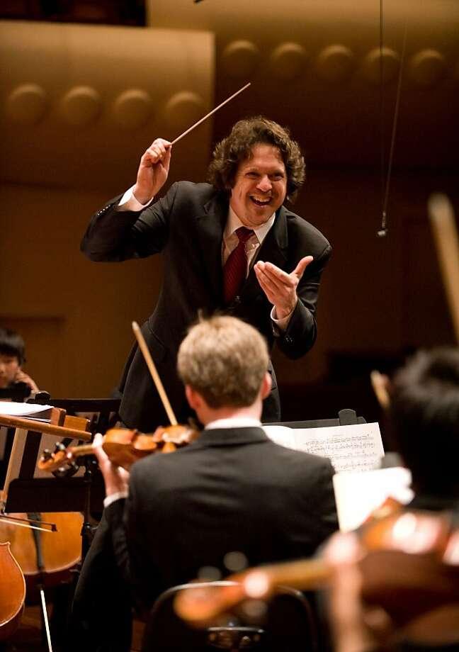 Conductor Donato Cabrera Photo: Courtesy SF Symphony