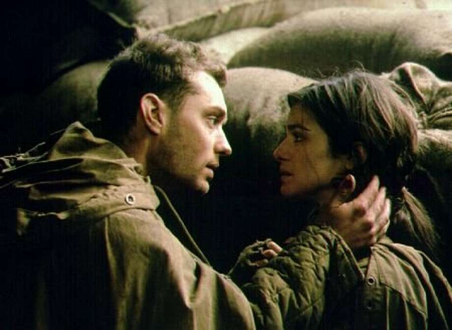 "Rachel Weisz and Jude Law in ""Enemy at the Gates,"" about Stalingrad. (Alex Bailey / 2000 - MP Film Mgmt. & DOS Prods.)"