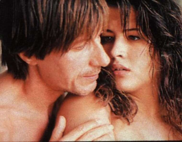 Sophie Marceau and Jacques Dutronc in MY NIGHTS ARE MORE BEAUTIFUL THAN YOUR DAYS.  And they may be