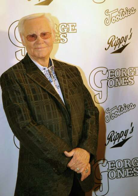 NASHVILLE, TN - FILE:  Country Music Legend George Jones celebrates at his, George Jones' 80th birthday party at Rippy's Bar & Grill on September 13, 2011 in Nashville, Tennessee.  Country singer George Jones  has been hospitalized for an upper respiratory infection May 21, 2012 in Nashville, Tennessee and has canceled upcoming tour dates.  (Photo by Rick Diamond/Getty Images) Photo: Rick Diamond / 2011 Getty Images