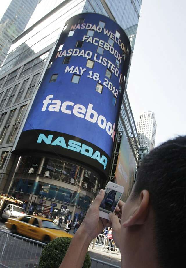 Facebook's IPO overwhelmed Nasdaq's computers, which failed to execute many trades. Photo: Richard Drew, Associated Press