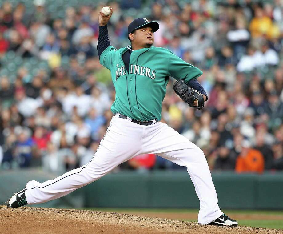 Who will be Seattle's next sports superstar? Will it be Mariners ace pitcher Felix Hernandez? Photo: Otto Greule Jr, Getty Images / 2012 Getty Images