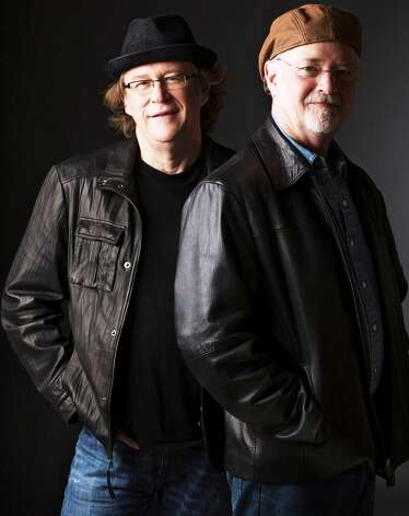 Veteran singer-songwriters Jack Saunders (left) and Danny Everitt Photo: Courtesy Photo
